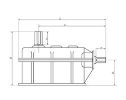TZ型三级立式齿轮减速机