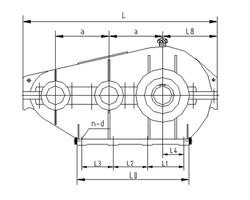 SHT型减速器外形尺寸